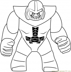 Lego Thanos Coloring Page - Free Lego Coloring Pages ...