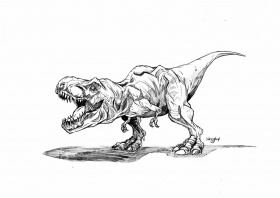 Jurassic Park - Coloring Pages for Kids and for Adults