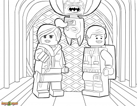 1000+ images about LEGO Movie Coloring Pages on Pinterest