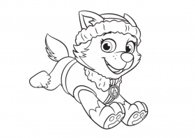 Puupy Coloring Page