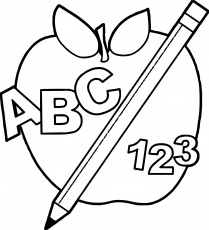 Block clipart coloring page, Block coloring page Transparent FREE ...
