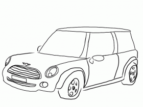 10 pics of mini cooper cars coloring pages mini cooper coloring