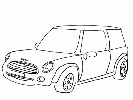 10 pics of mini cooper cars coloring pages mini cooper coloring