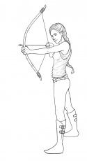 hunger games coloring pages