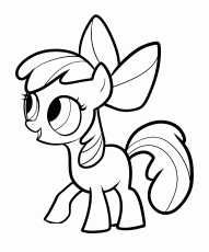 Apple Bloom coloring pages