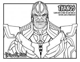 infinity war coloring pages avengers infinity war coloring ...