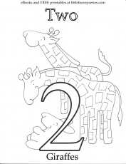 Number 2 Coloring Page at GetDrawings | Free download