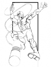 Printable coloring pages - Daredevil (Superheroes) | Superheroes ...