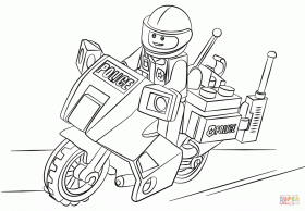 Lego City Coloring Pages Great - Coloring Pages - Coloring Home