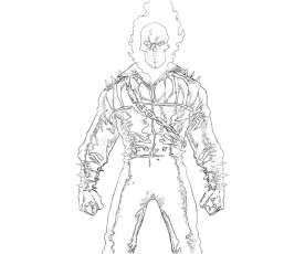 How To Draw Ghost Rider Ghost