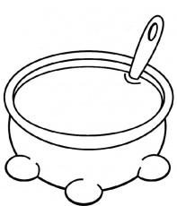 Soup Coloring Page