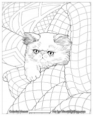 Quilt Blocks Coloring Pages to Print Inspirational Cats & Quilts ...