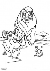 Lion King 2 Simba S Pride Coloring Pages - High Quality Coloring Pages