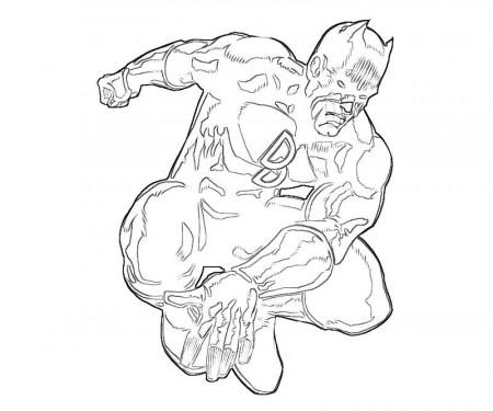 Related Coloring Pages. X-Men Daredevil Hero   Yumiko Fujiwara