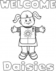 1000+ images about Daisy Coloring Pages on Pinterest | Girl scout ...