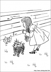 Wizard Of Oz Emerald City Coloring Page Home