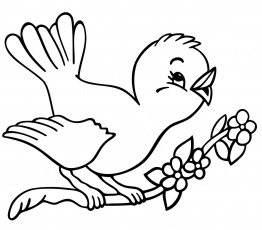 Free Bird Coloring Pages Printable Bird Pictures Free Birds-1731 ...