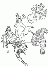 Capturing doctor doom coloring pages ...hellokids.com