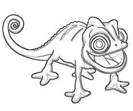 8 Pics Of Disney Tangled Pascal Coloring Pages Rapunzel Tangled