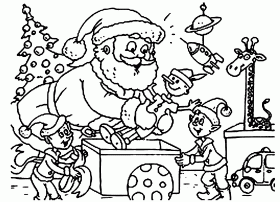 Coloring Pages Christmas Free Printable | Free Coloring Pages