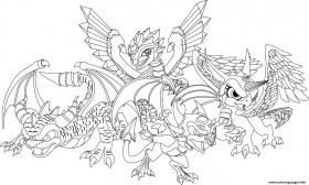 Dragon City Coloring Pages (Page 1) - Line.17QQ.com