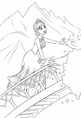 Beautiful Frozen Coloring Pages | 101 Coloring