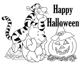 Halloween Coloring Page Printable | Free Coloring Pages