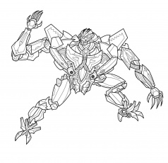 Transformers Coloring Pages and Book | UniqueColoringPages