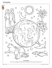 Printable Coloring Pages from the Friend a link to the lds friend coloring  page with lo… | Sunday school coloring pages, Creation coloring pages, Lds coloring  pages