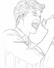 Pin by Ilse Luevano on Shawn Mendes Art | Sketches, Selena gomez drawing,  Drawings