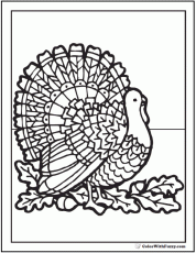 Thanksgiving Coloring Page: 68+ Customizable PDFs
