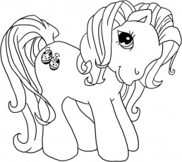 Printable My Little Pony - Coloring Pages for Kids and for Adults