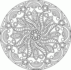 detailed coloring - Colouring Pages
