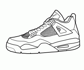 Jordan Shoes Coloring Pages Home Sheet Shoe Sheets Excelent Nike –  Approachingtheelephant