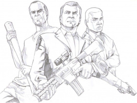 Gta Coloring Pages Download Or Print For Free The Best Images Coloring Home