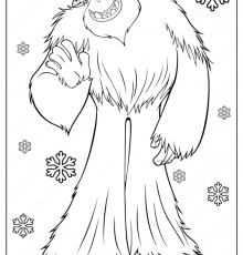 Yeti Coloring Pages - Coloring Pages Kids 2019 - Coloring Home