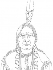 Cherokee Indian Coloring Pages For Book - Сoloring Pages For All Ages
