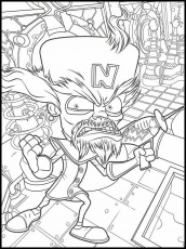 Crash Bandicoot 32 Printable coloring pages for kids | Coloring books, Crash  bandicoot, Coloring pages