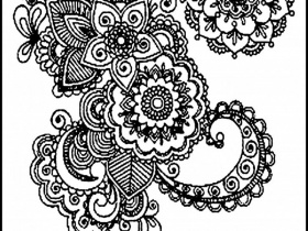Free Coloring Pages For Adults Printable Hard To Color Image 4 ...