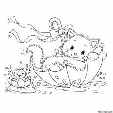 Hello Kitty Colouring Pages To Print For Christmas Hello Kitty ...