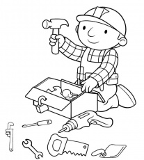 Bob The Builder Coloring Pages Valentine's Day - Coloring Pages ...