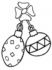 Printable Coloring Pages Christmas Ornament For Kids | Christmas ...