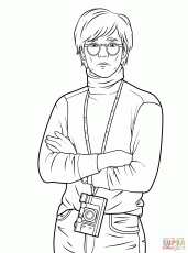 Andy Warhol Coloring Sheets High Quality Coloring Pages