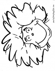 thing 1 coloring page