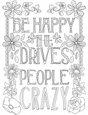 Quotes Coloring Pages For Adults ...golfrealestateonline.com
