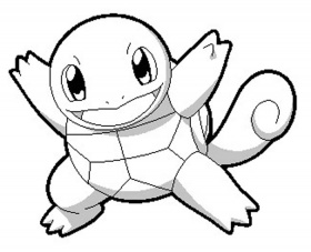 Squirtle Wartortle Blastoise Pokemon Coloring Pages ...