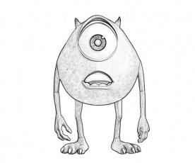 11 Pics of Mike From Monsters Inc Coloring Pages - Mike Monsters ...