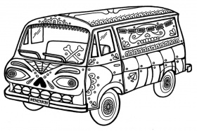 Yucca Flats, N.M.: Wenchkin's coloring pages - Muerto Mobile