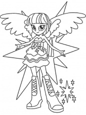 Equestria girls coloring pages. Download and print Equestria girls ...