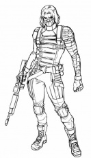 Pin by Caylee Candy on Winter soldier | Avengers coloring pages, Avengers  coloring, Marvel coloring